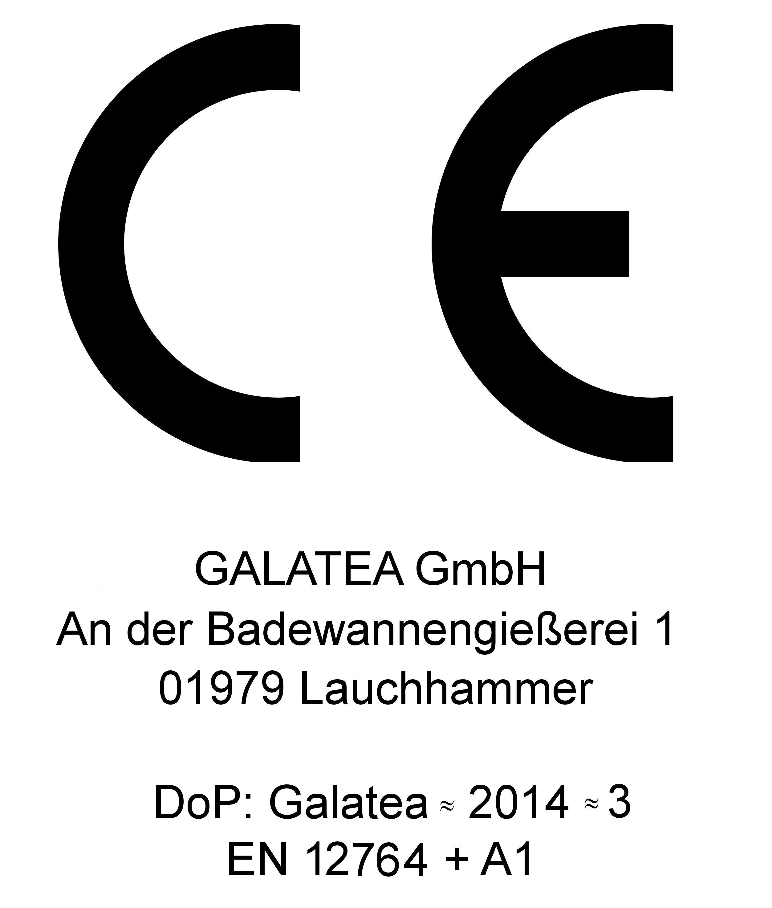 Ce label galatea bad en ce shower trays biocorpaavc Image collections