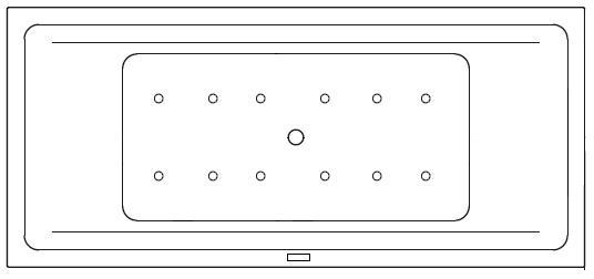 Variante 1 (630 nicht regelbar) für Doppelsitzer | Variante 1 (632 regelbar) für Doppelsitzer